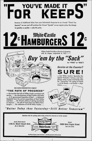 Remember The 2 White Castles In Miami? Probably NotBurger
