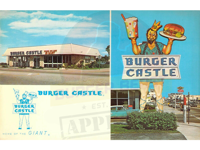 Once Upon A Time, There Was A Burger Castle Restaurant