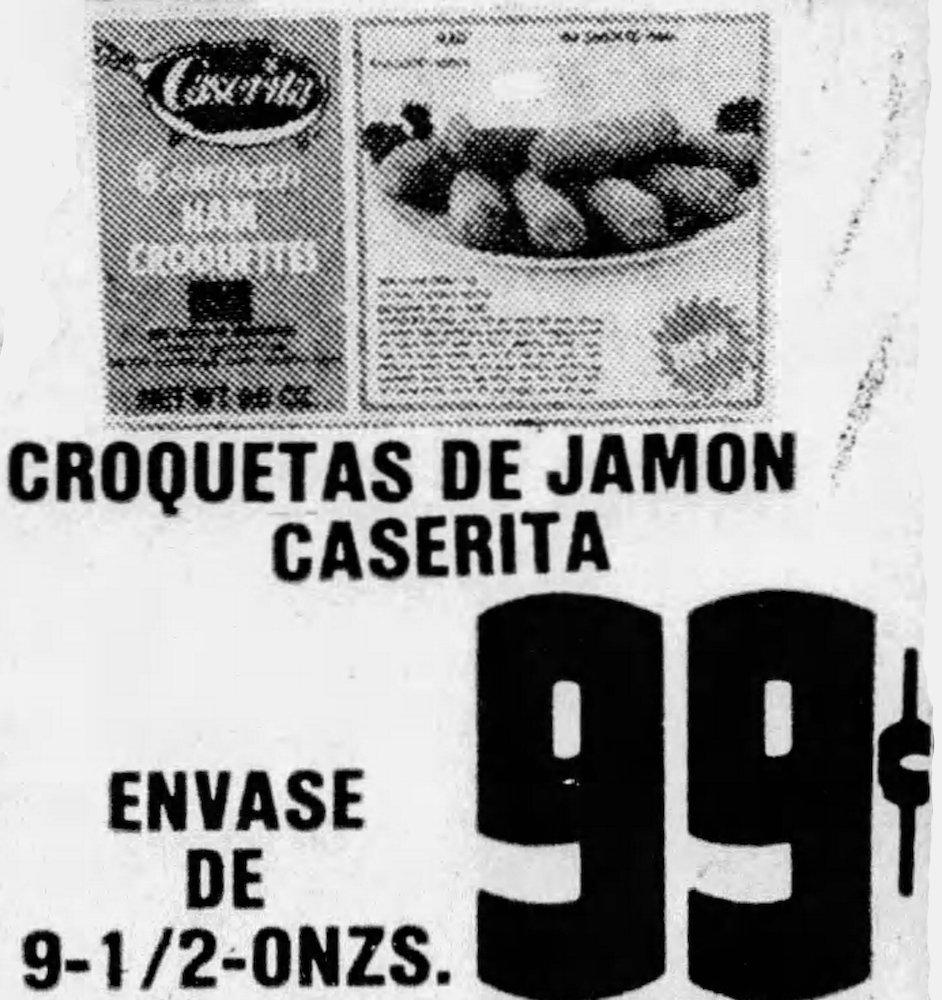Caserita Croquetas Ad