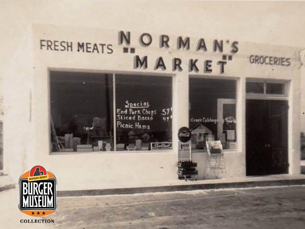 Norman's Market - November of 1957