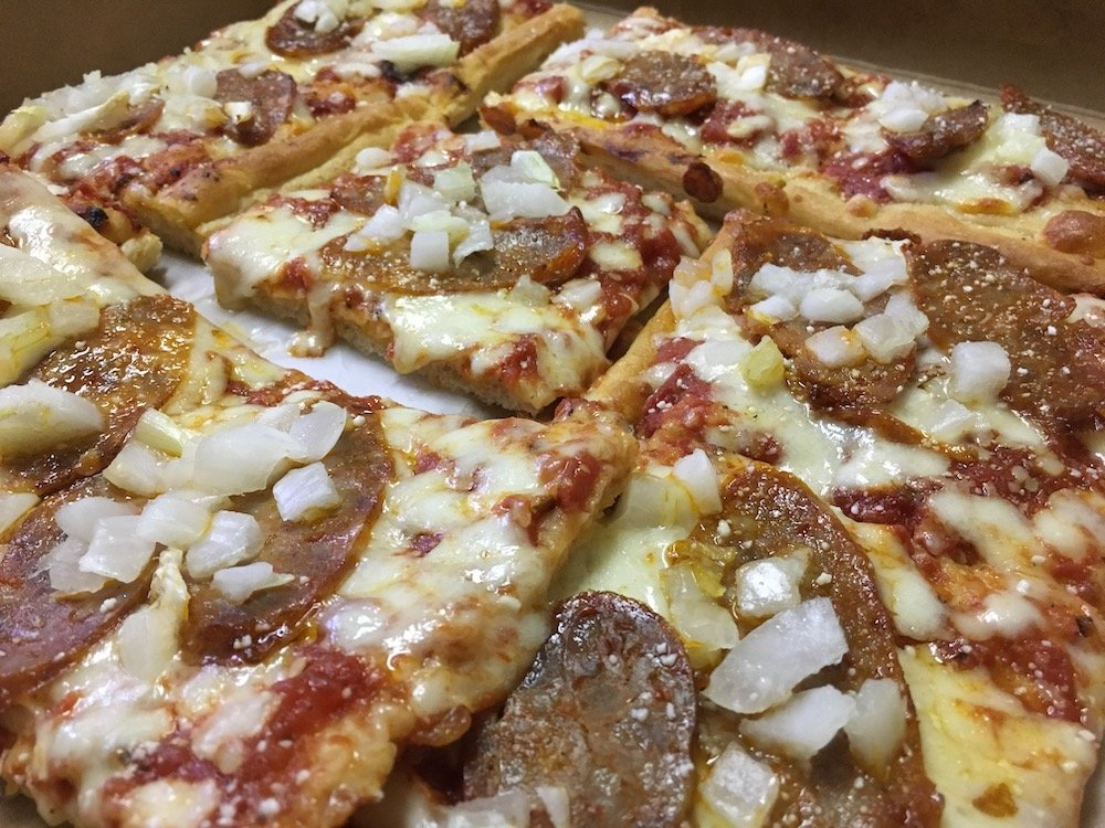 Sausage & Onion Pizza