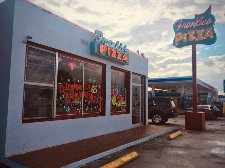 Frankie's Pizza, the OG Pizza Joint in Miami