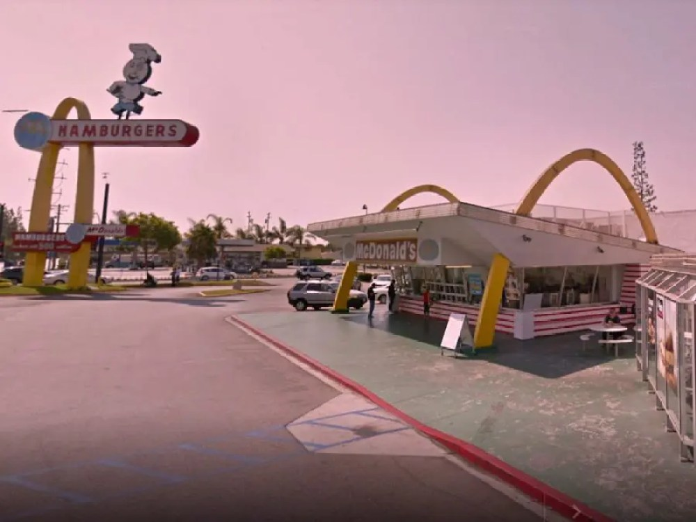 3rd McDonalds in Downey, California