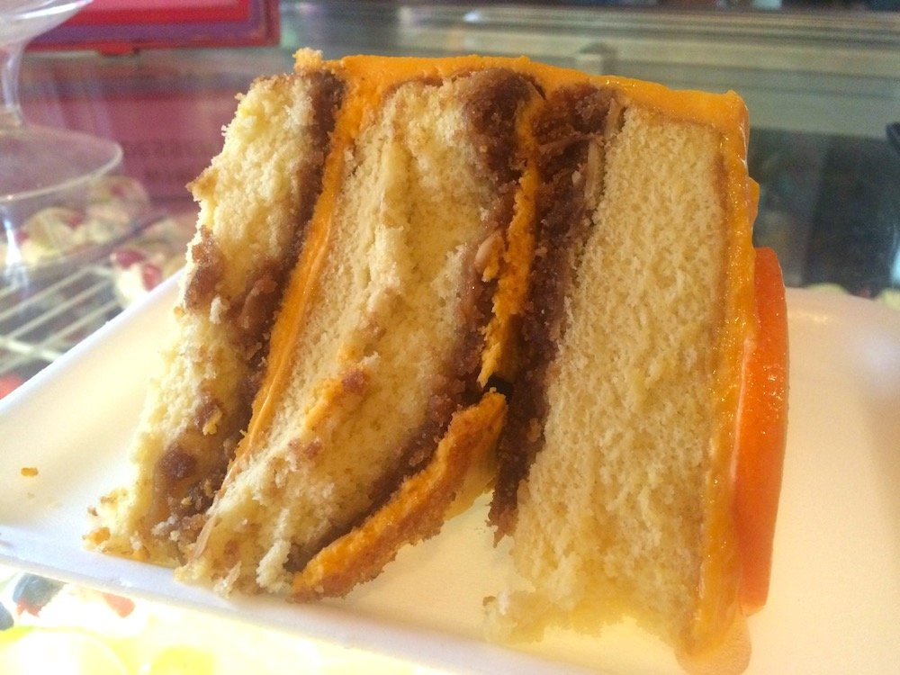 Bubble Room Orange Crunch Cake