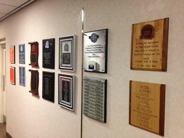 Craver Hall of Fame Wall