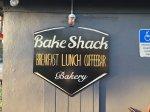 Bake Shack sign in Dania Beach, Florida