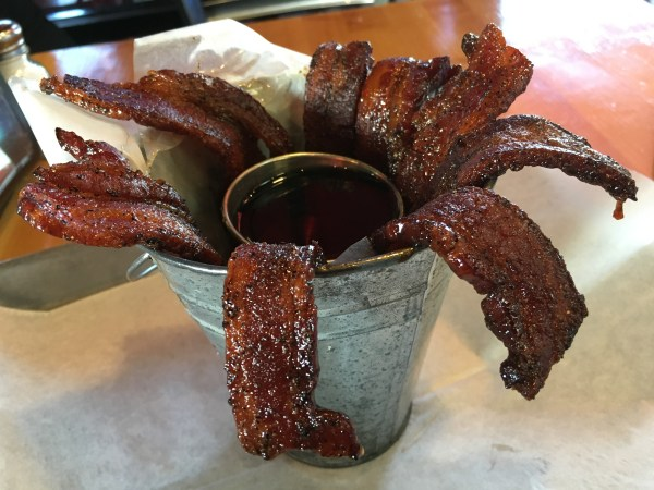 Candied Bacon Bucket
