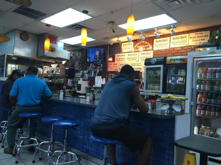 Killer Sliders from Sunnyside Cafe in North Miami