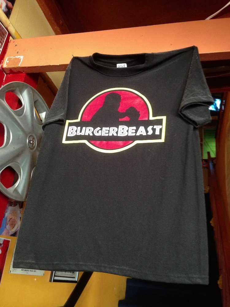 Original Burger Beast T-Shirt Tee