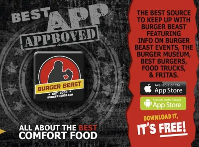 The Burger Beast App for Android & iPhone - RETIRED