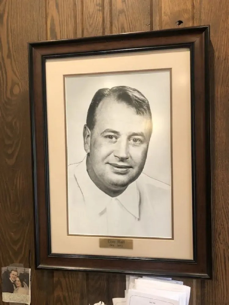 Don Hall, founder of Hall's Original Drive-In