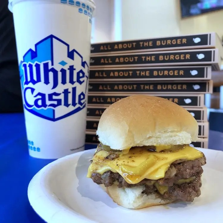Double Cheese 1921 Slider with Pickle, Mustard & Onion