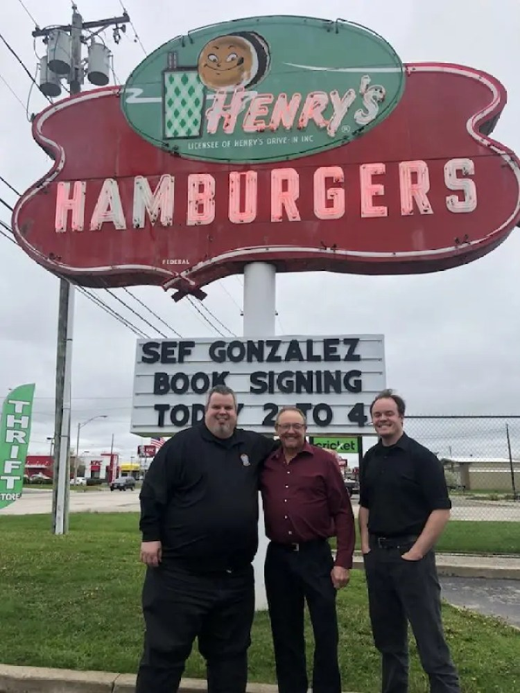 Burger Beast with Henry's Hamburgers owners Dave & Mark Slavicek