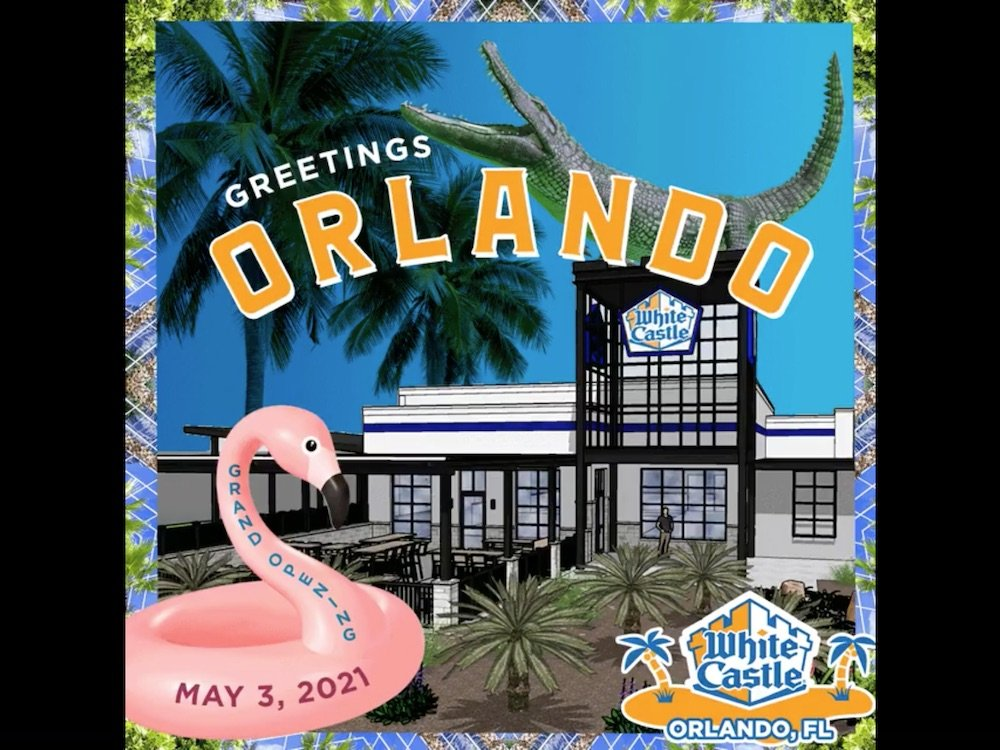 White Castle May 3rd Opening in Orlando