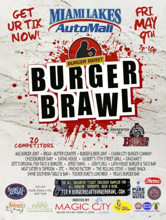 Burger Beast Burger Brawl 2014