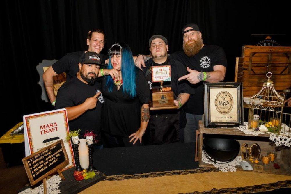 Masa Craft collab with Farmhouse BBQ - Croqueta Palooza 2019 Judge's Winner