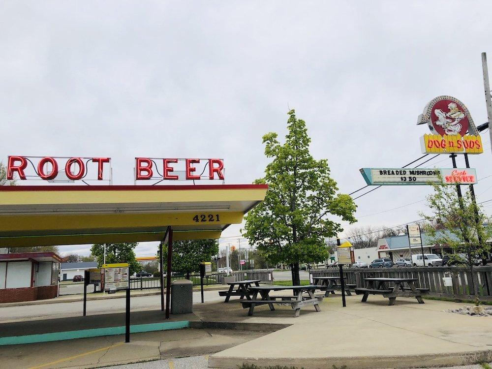 Dog 'N Suds in Muskegon, Michigan