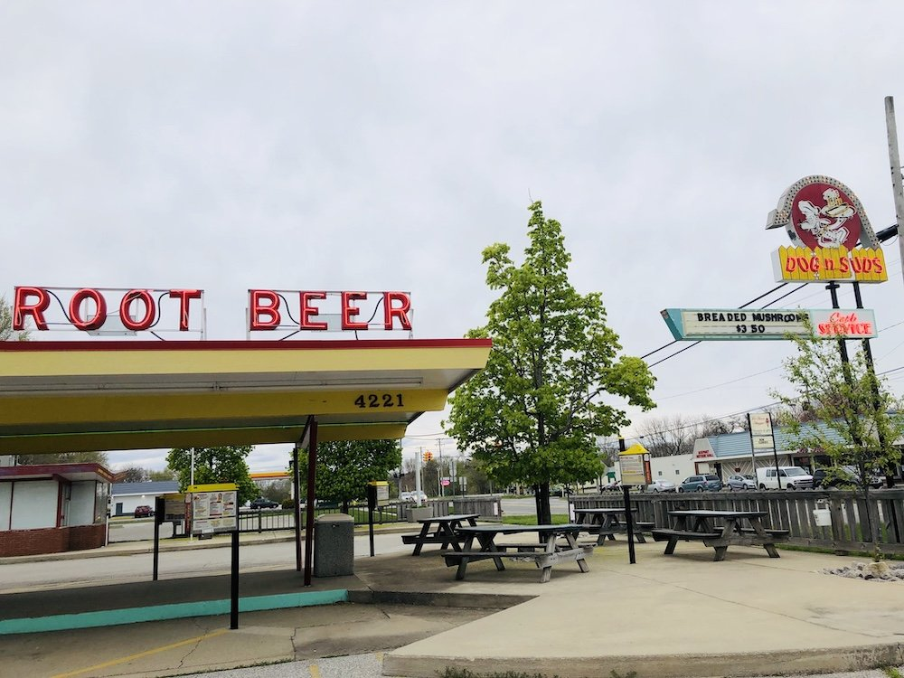 Dog 'N Suds in Muskegon, Michigan
