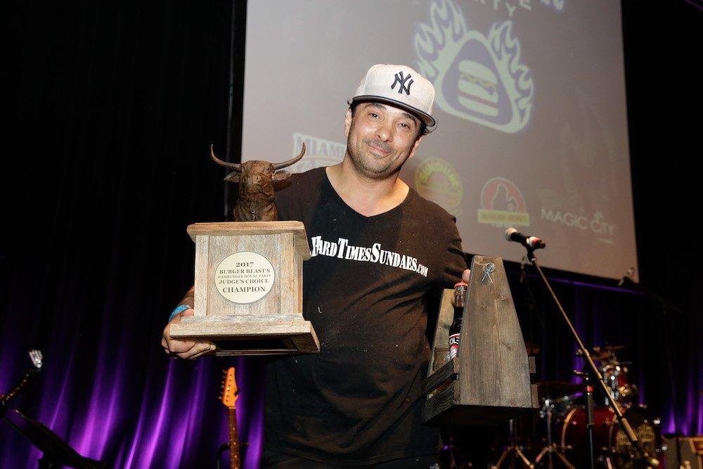 Hamburger House Party 2017 Judge's Winner Hard Times Sundaes