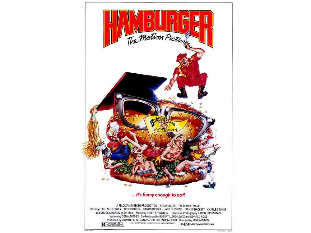 Hamburger: The Motion Picture Classic Poster