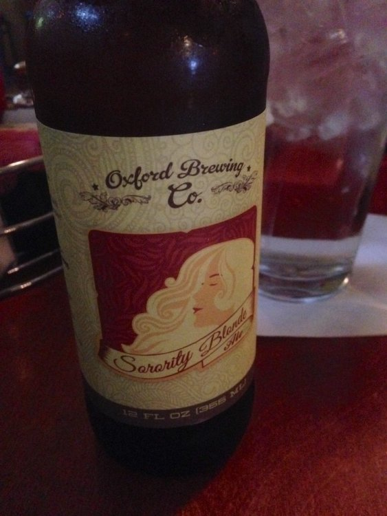 Oxford Brewing Beer