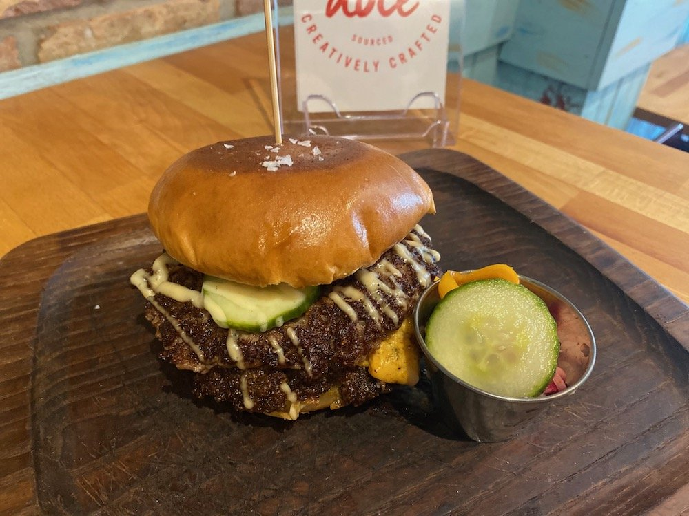 Brisket Butter Burger from Little Bird by Doce Provisions