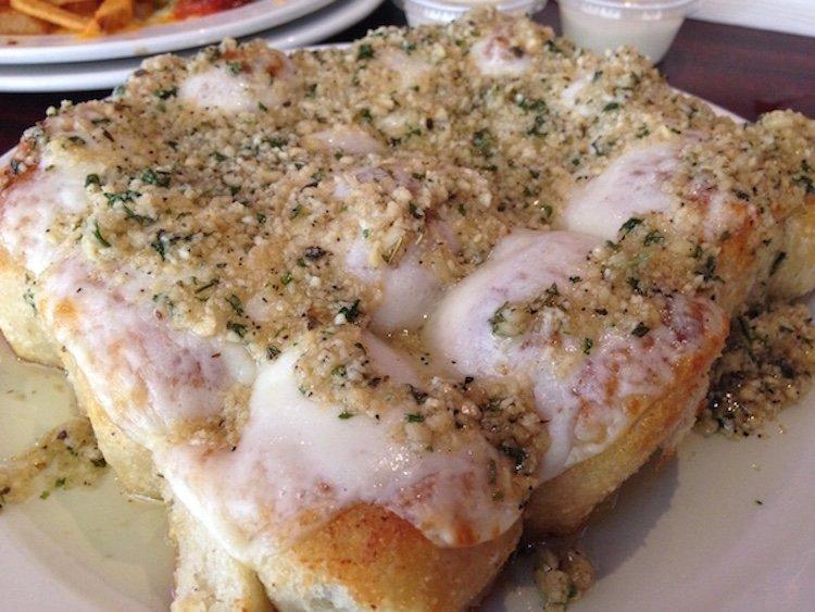 Garlic Rolls topped w/Cheese