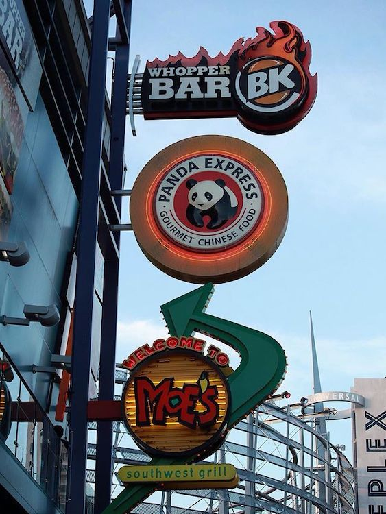 BK Whopper Bar Outdoor Sign