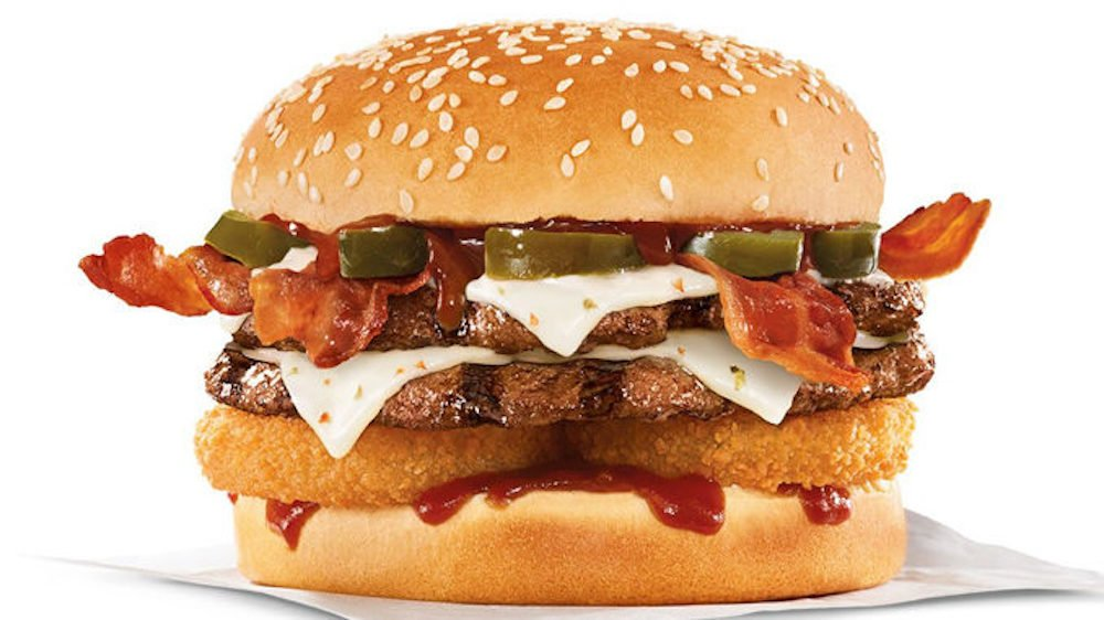 Carls Jr. & Hardee's Spicy Western Bacon Cheeseburger