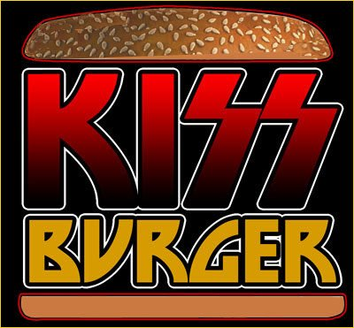 KISS Burger Logo