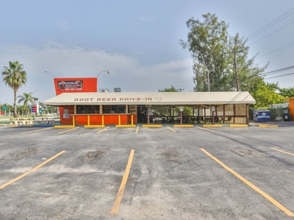 Root Beer Drive In in North Miami