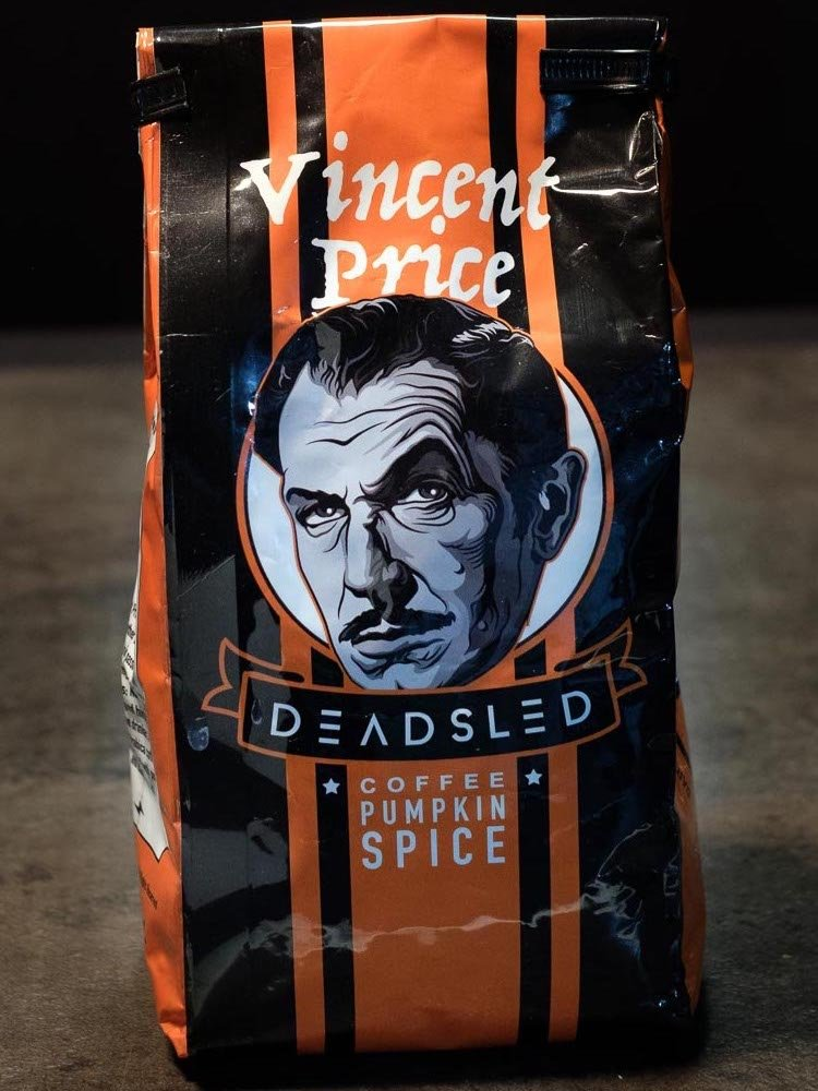 Vincent Price Dead Sled Coffee