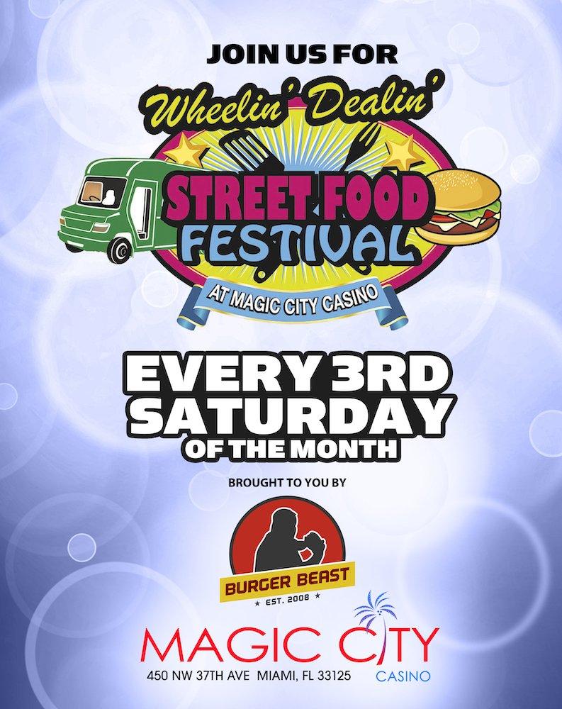 Wheelin' Dealin' Street Food Festival poster