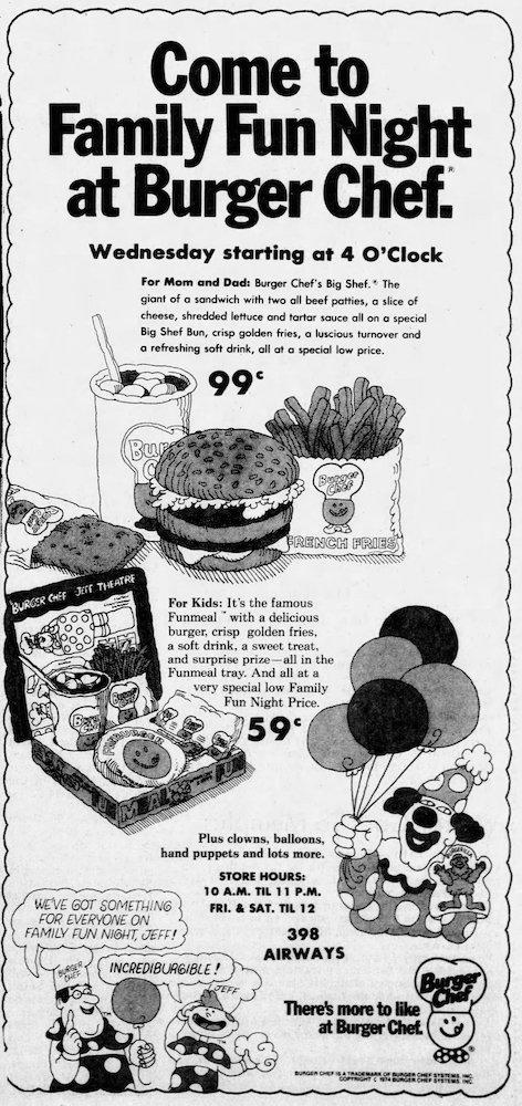 Burger Chef in The Jackson Sun 06-11-74