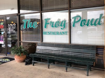 The Frog Pond in St. Pete Beach is a great locals Breakfast spot!