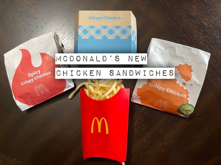 McDonald's has 3 New Crispy Chicken Sandwiches