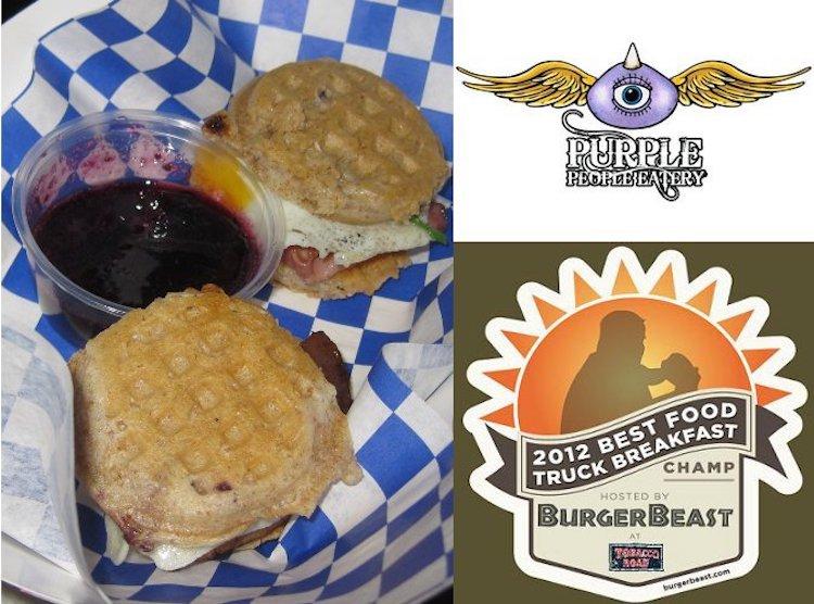 reakfast Champs Purple People Eatery