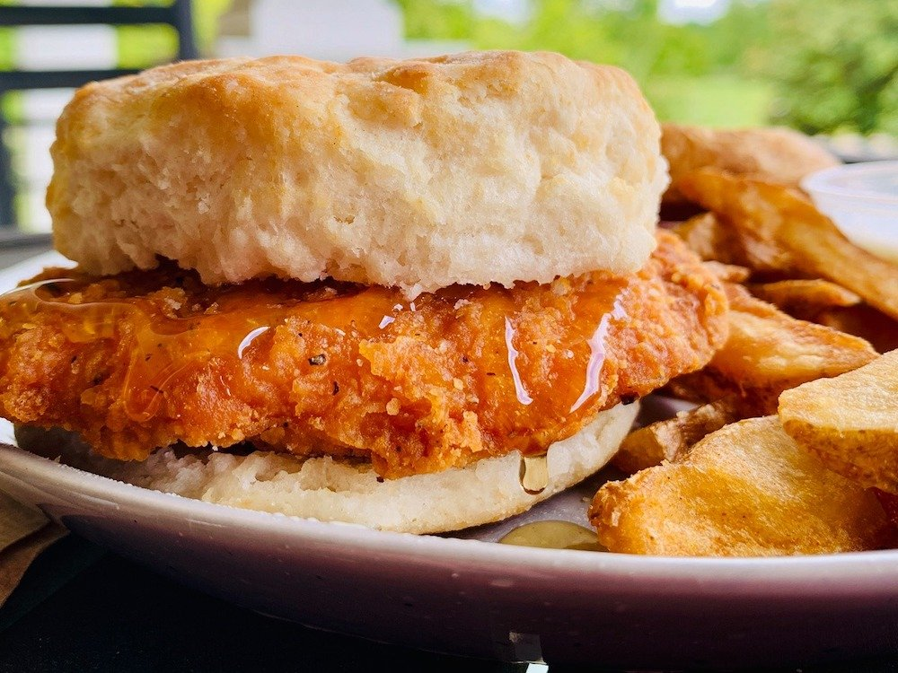 Biscuitville Spicy Chicken Biscuit