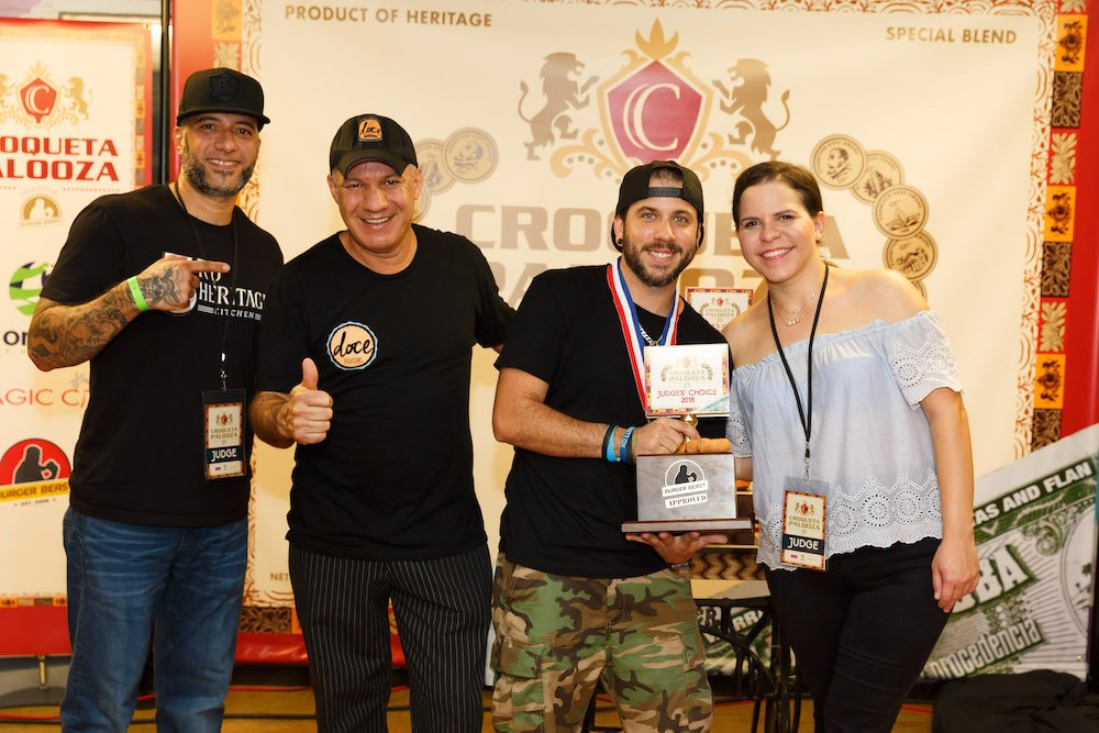 Croqueta Palooza 2018 Judge's Winner Doce Provisions