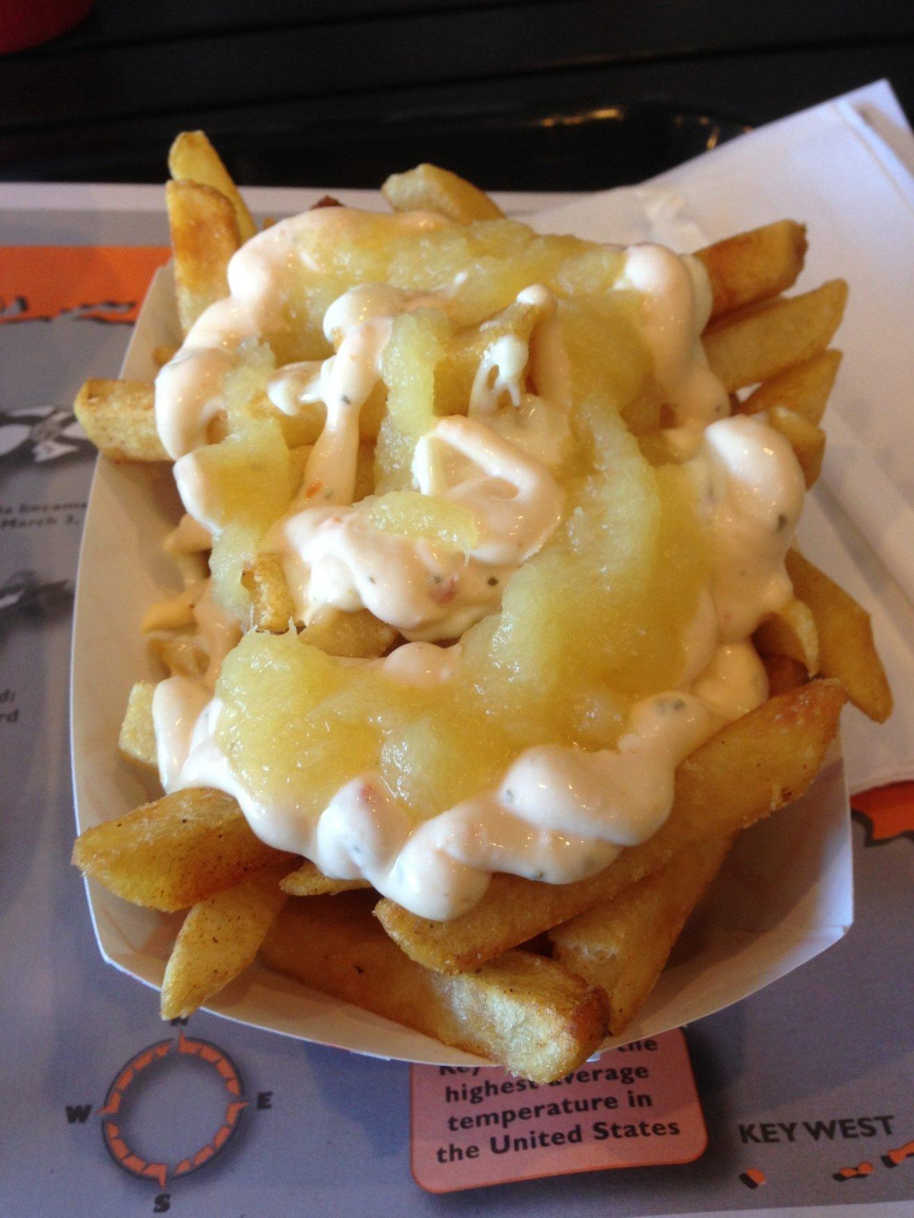 Saucy Fries