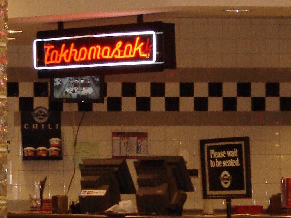 Takhomasak Neon Sign