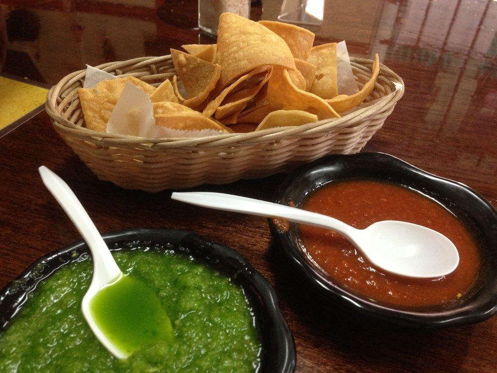 Tortilla Chips from Jacalito Taqueria Mexicana