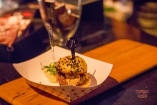 STK was in the mik with its wagyu and maple-glazed bacon burger.