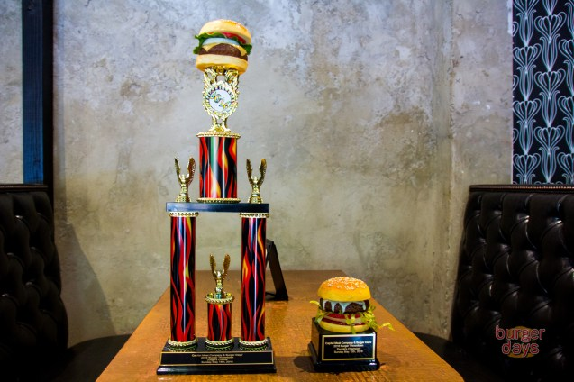Burger trophies are the best trophies.