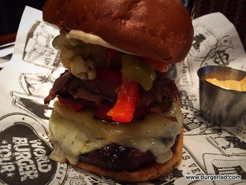 Hard Rock Cafe World Burger Tour 2016
