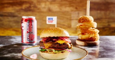 GBK The Rump Special Burger