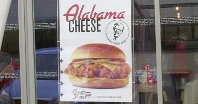 KFC Alabama Cheese Burger