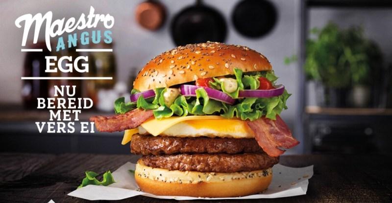 McDonald's Maestro Angus Egg