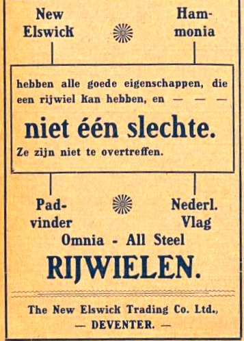 adv. 1916 b- merken kampioen 1 sept 1916
