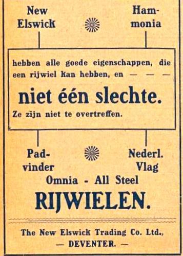 Advertentie Burgers. kampioen 1 sept 1916